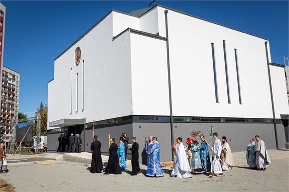 V Košiciach posvätili nový chrám