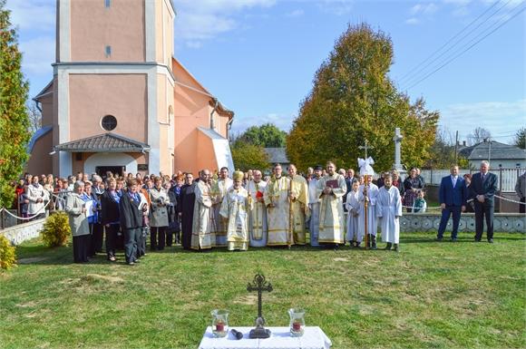 Gréckokatolíci v Lekároviach oslávili viaceré významne udalosti