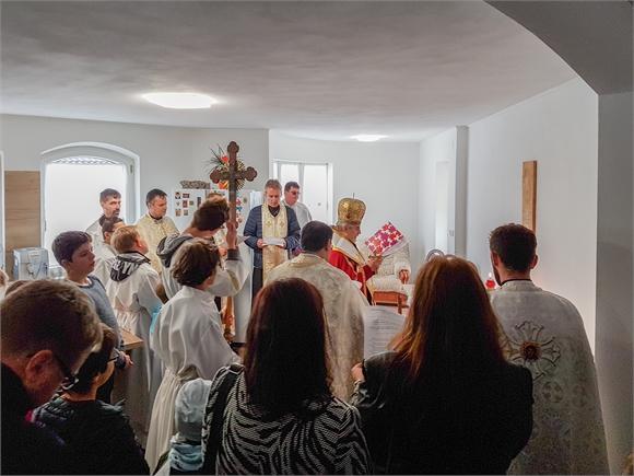 Vo Veľkom Ruskove bol posvätený dom spoločenstva SKALA