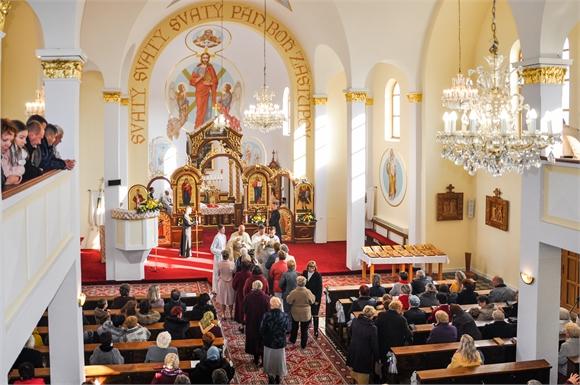 Gréckokatolíci z Michaloviec-Topoľany oslávili viaceré udalosti zo života farnosti