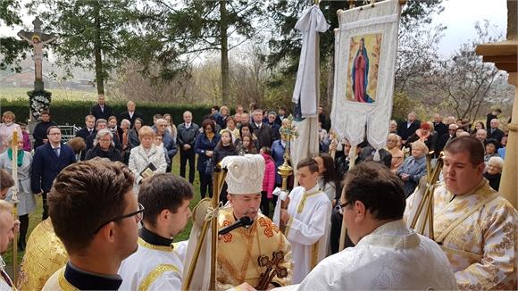 Vladyka Cyril Vasiľ oslávil s veriacimi v Stanči patróna farnosti