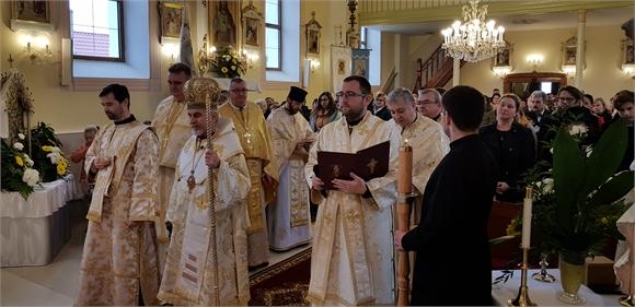 V Kuzmiciach obnovili Cerkev Zosnutia Presvätej Bohorodičky