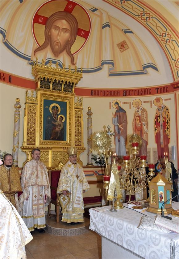 Michalovská cerkev bola vypísaná ikonami