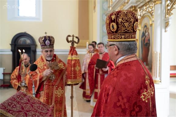 V Košickej eparchii vladyka Milan Chautur poďakoval protosynkelovi za 22 rokov služby